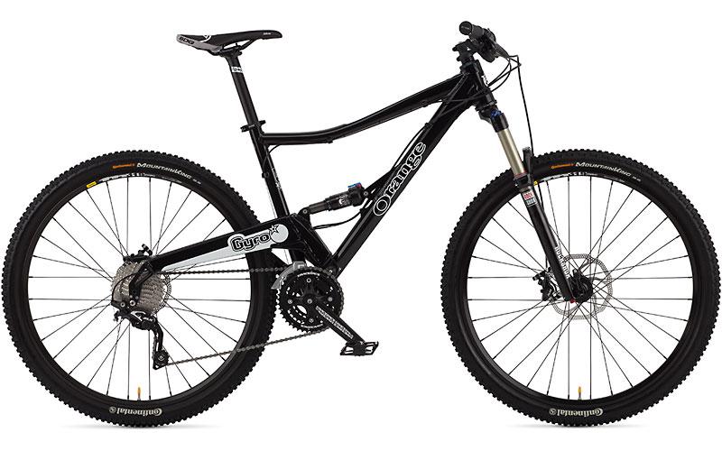 Orange Mountain Bikes - www.drovercycles.co.uk