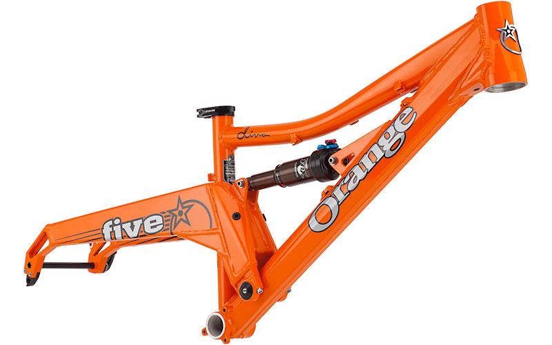 Orange Five Diva Frame