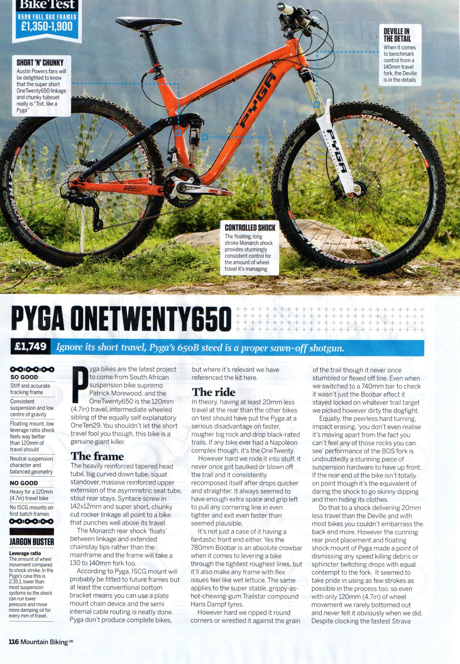 Pyga Review MBUK 1