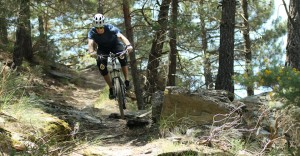 getting airborne at Pure Mountains