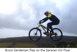 Saracen Kili Flyer really flies!