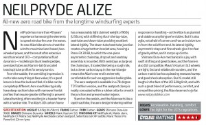 Neil Pryde Alize review