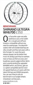 shimano ultegra WH6700