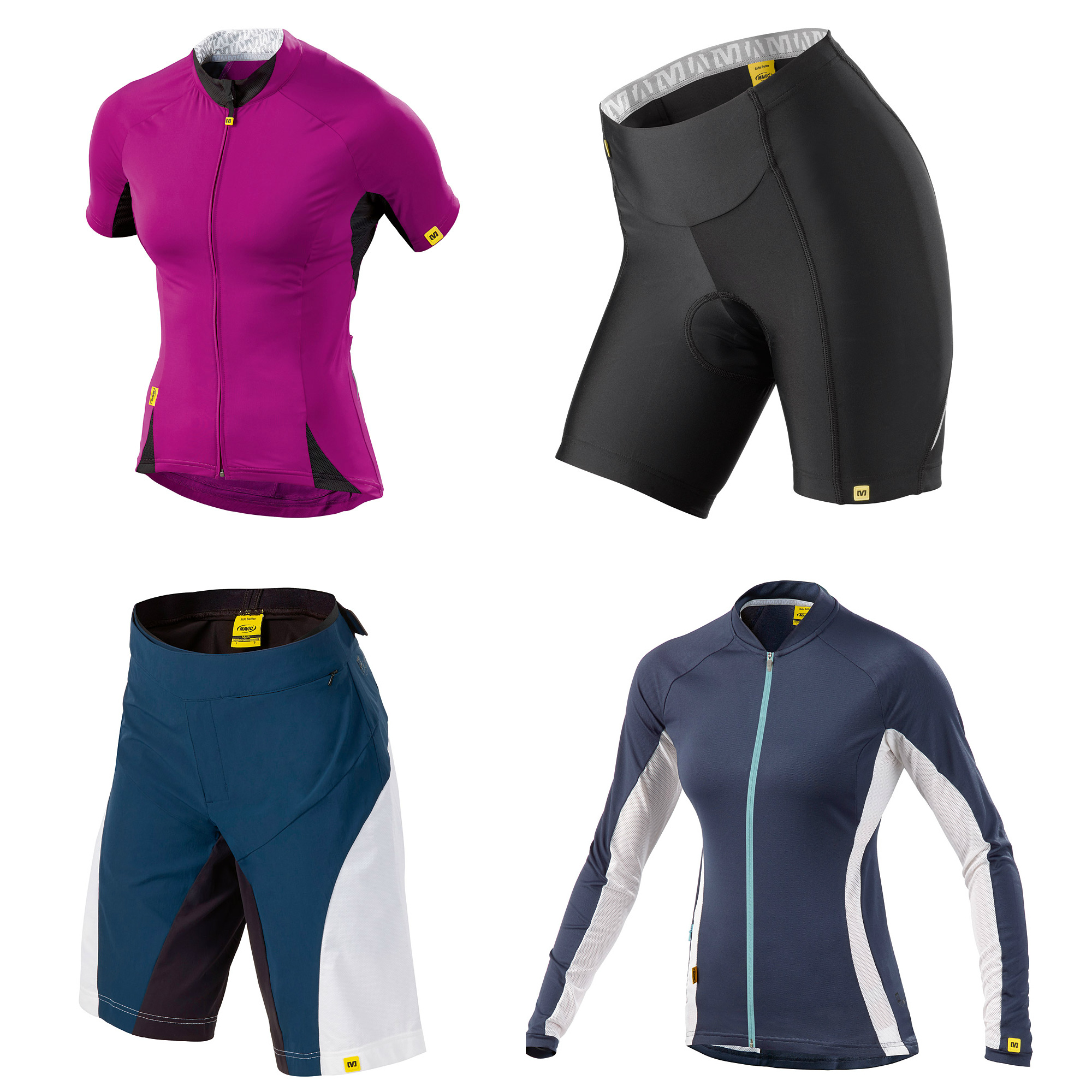 Mavic Cloud women's jersey Cloud women's short Meadow Jersey Meadow short