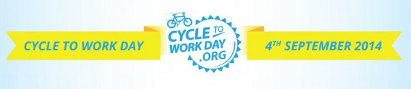 cycle to work day banner