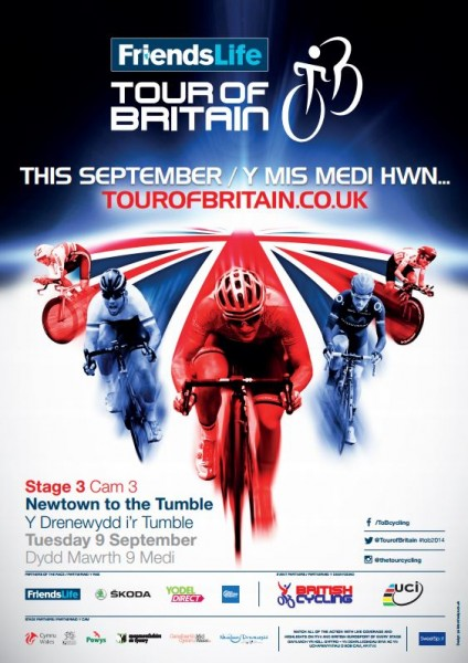 tour of britain stage 3 poster
