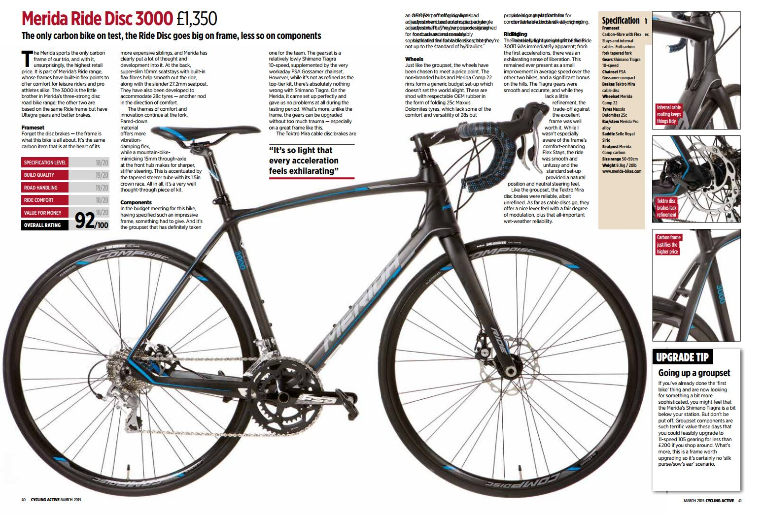 Merida Ride Disc 3000 Review