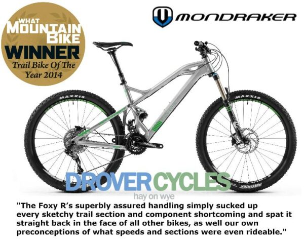 Mondraker Foxy trail bike of the year