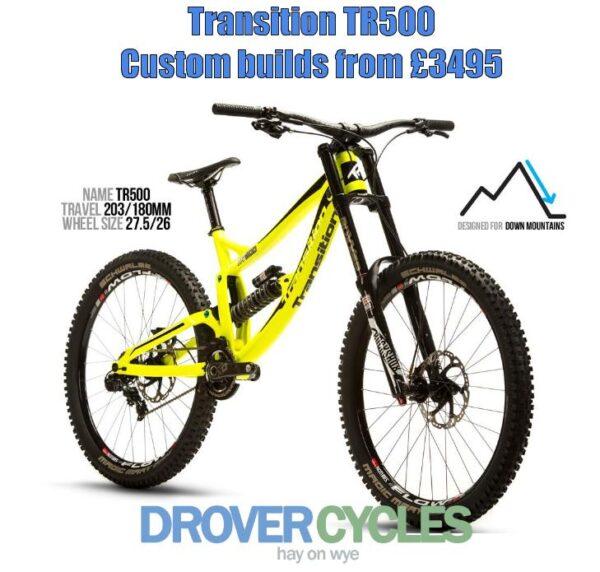 Transition tr500 banner