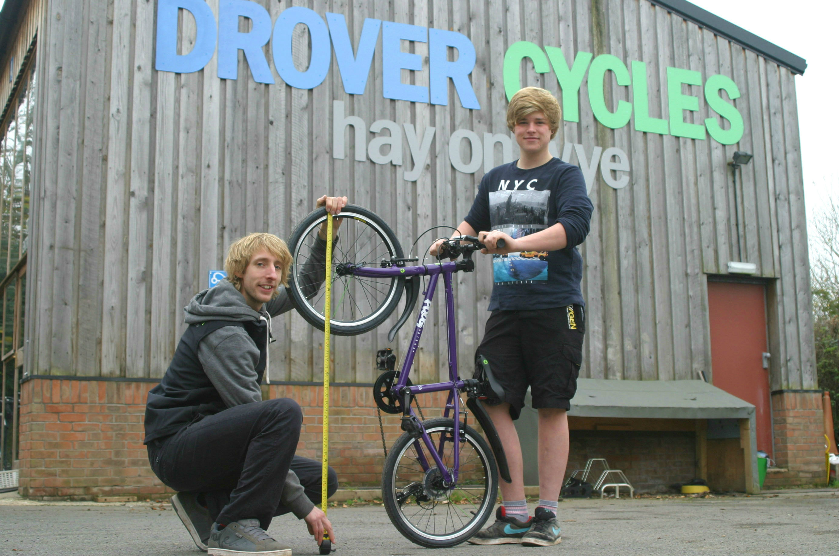 drover cycles bike fit