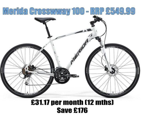 merida crossway 100 cycle to work