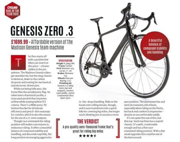 genesis zero review