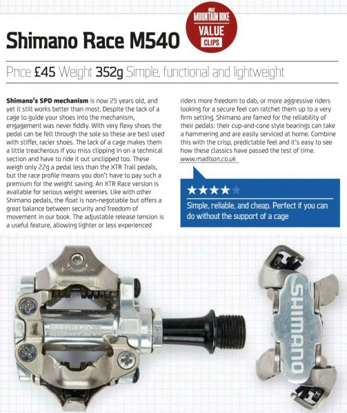 shimano m540 review