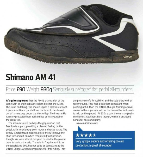 shimano am41 review