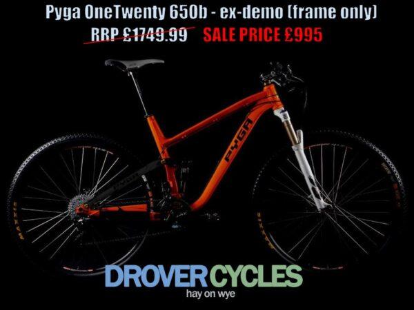 Pyga OneTwenty ex-demo frame