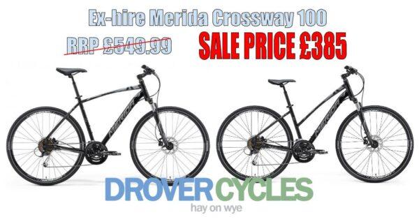 ex-hire Merida Crossway 100