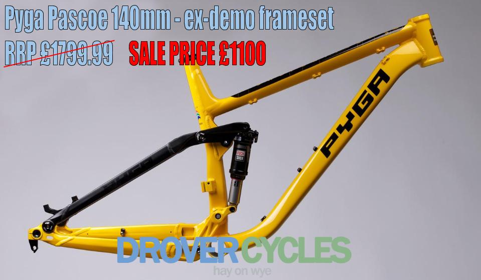 236076f9de3 Ex-demo Pyga mountain bikes - nearly new bargains! - www ...