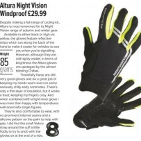 Altura Nightvision windproof gloves – review