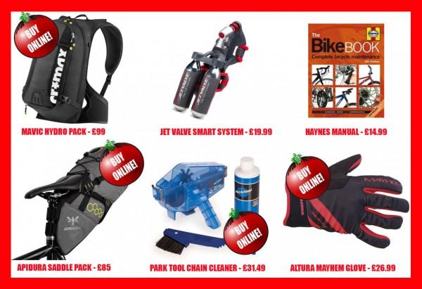 mens cycling xmas gifts reduced
