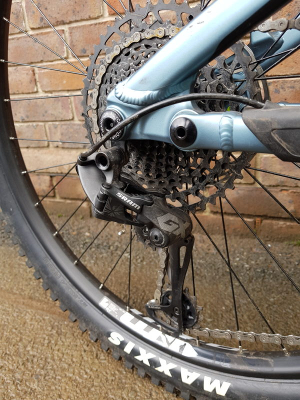Transition Scout NX Eagle cassette and upgraded GX rear mech derailleur