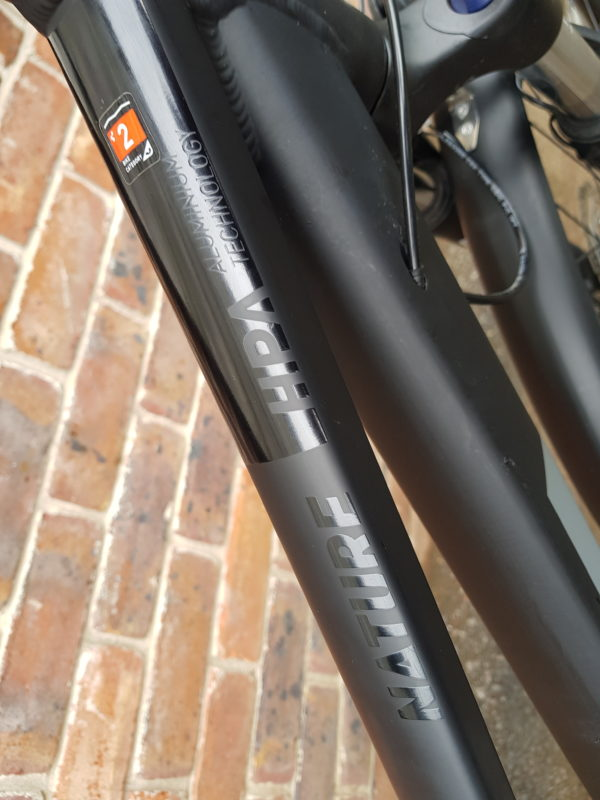 Cube Nature EXC All-Road Trapeze Frame Step Through - Frame Detail