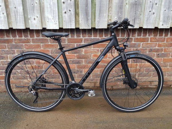 Cube 2019 Nature EXC All-Road ex-hire bike for sale - side view
